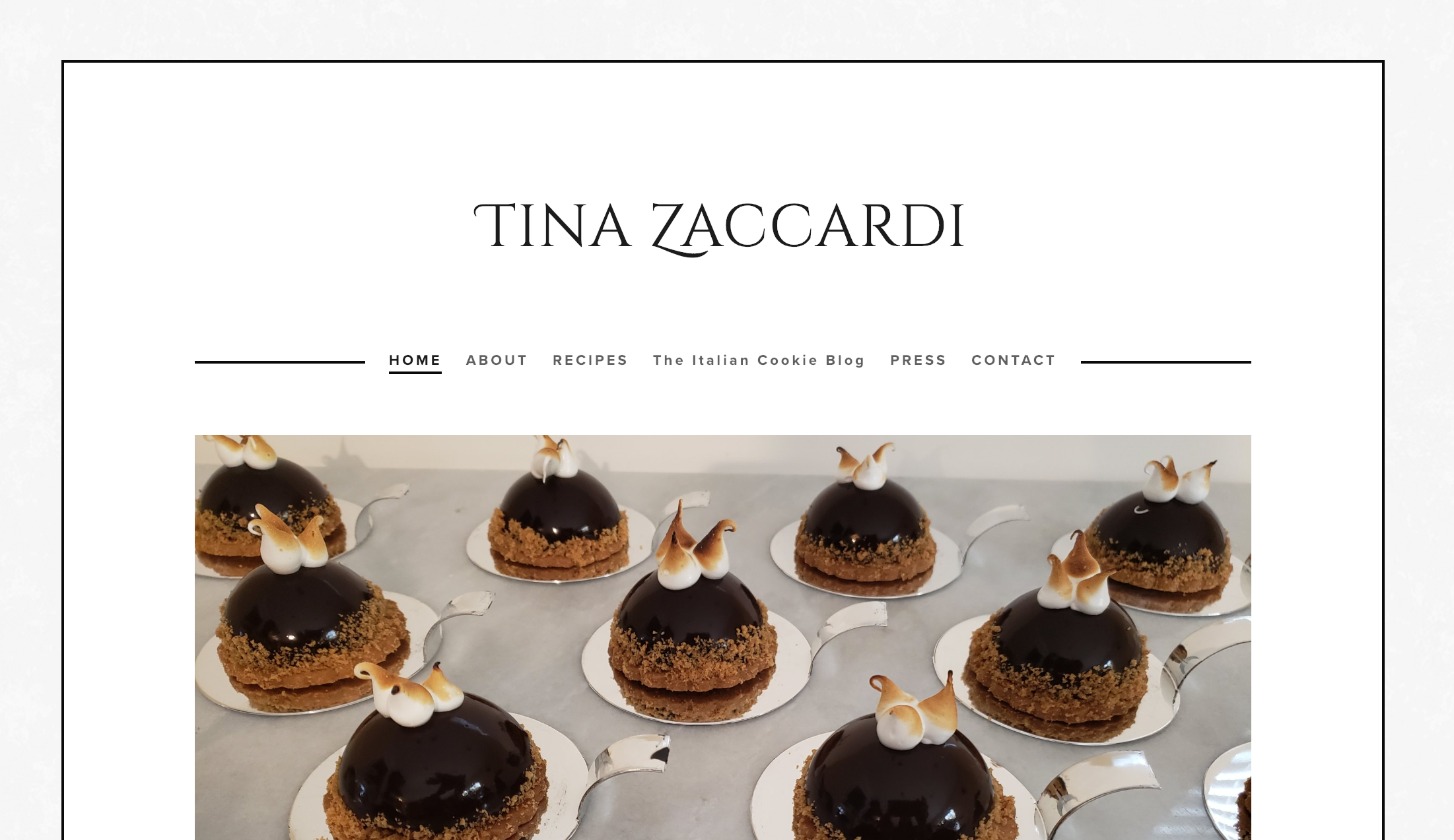 Tina Zaccardi – The Italian Cookie